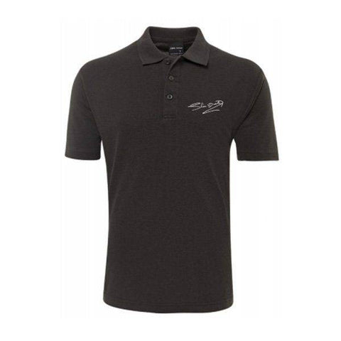 Signature Mens Grey Polo Shirt
