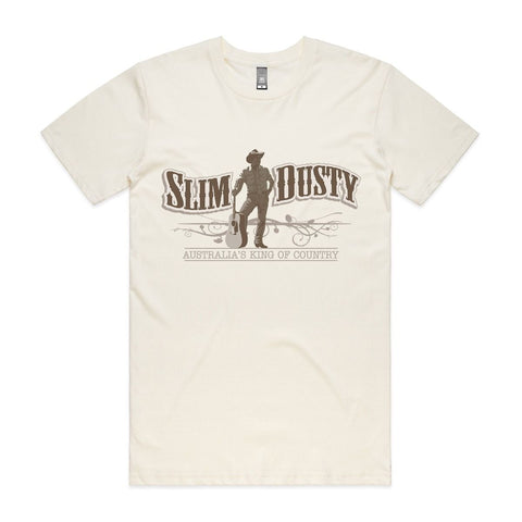 Slim Dusty Natural Logo T-Shirt