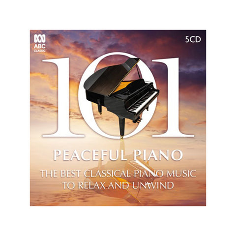 101 Peaceful Piano (5CD)