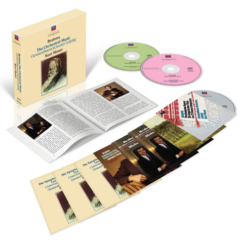 Brahms: Complete Orchestral Music (8CD Box Set)