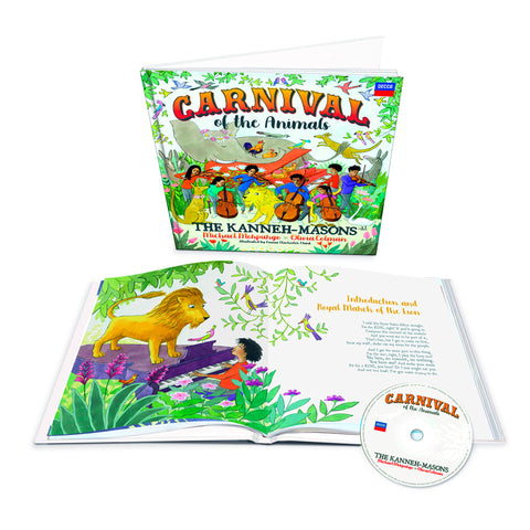Carnival of the Animals (Deluxe Book + CD)