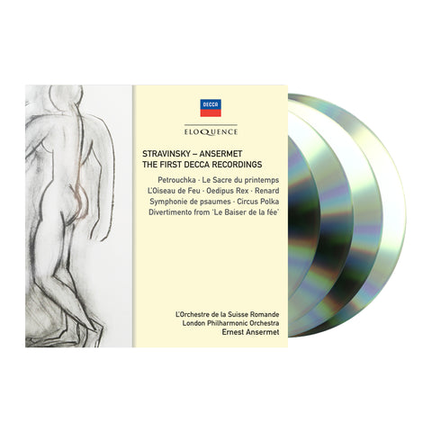 Stravinsky - Ansermet: The First Decca Recordings (4CD)