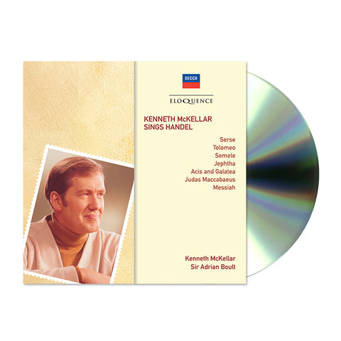 Kenneth Mckellar Sings Handel (CD)