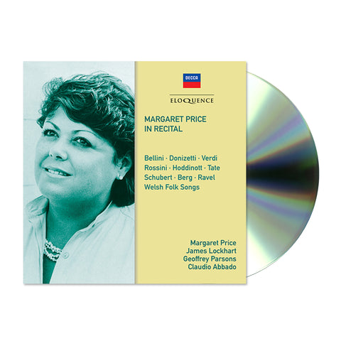 Margaret Price In Recital (2CD)