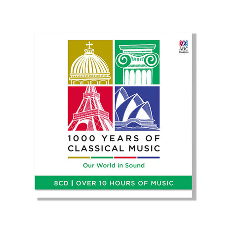 1000 Years of Classical Music (8CD)