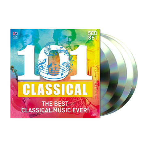 101 Classical: The Best Classical Music Ever! (5CD)