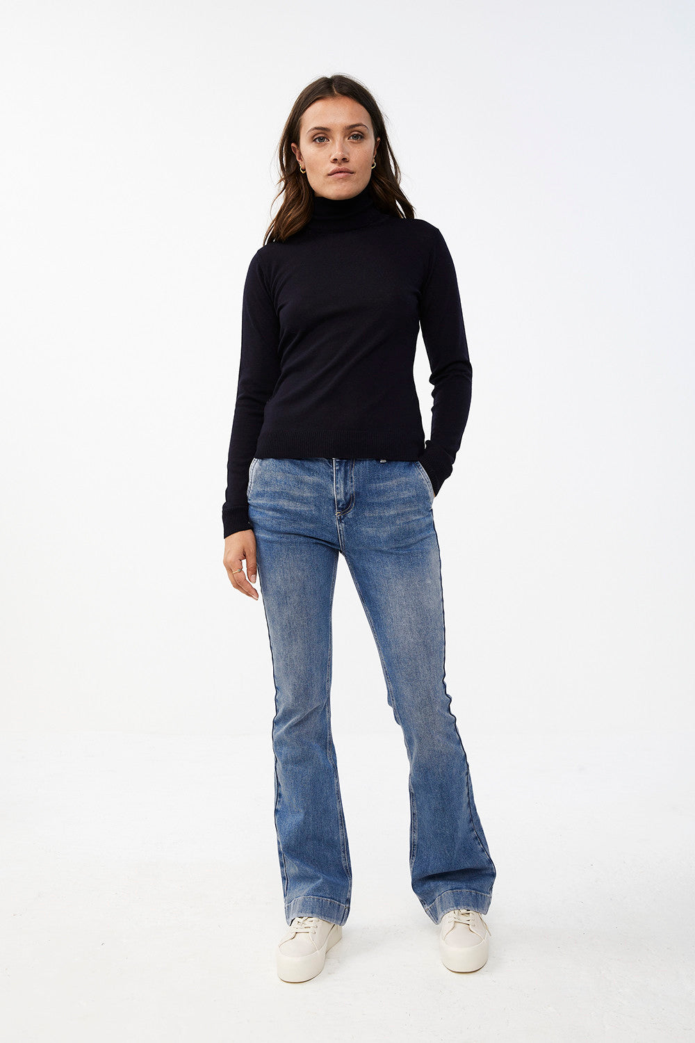 By-Bar lisa turtle neck black