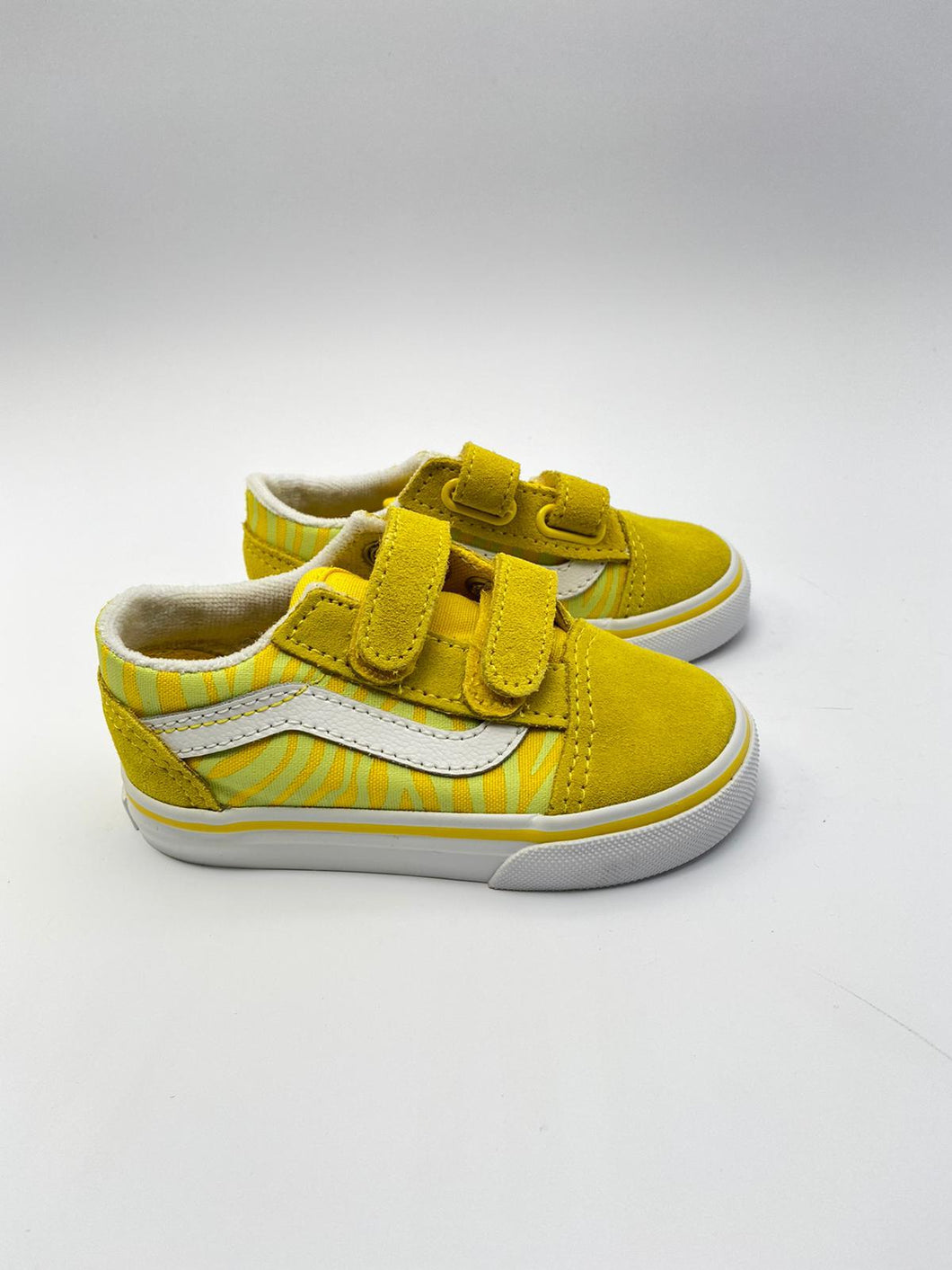 Vans old skool V (neon/yellow) klittenband