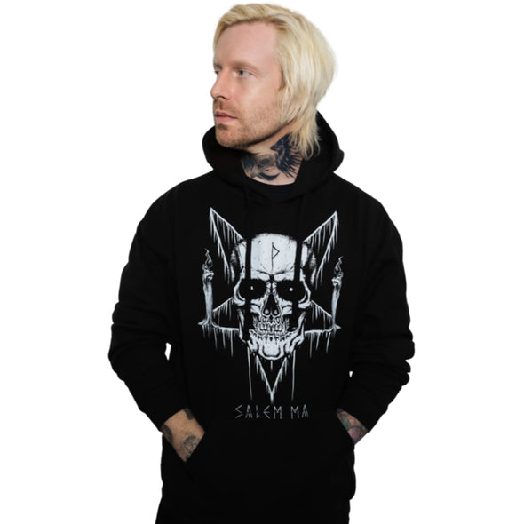 Skull Candle Pullover Hoodie
