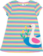 Load image into Gallery viewer, Swan Dress 9-12 months