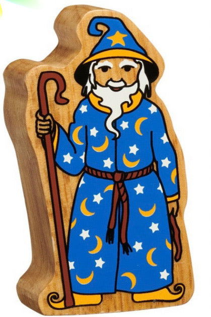 Natural Blue And Yellow Wizard