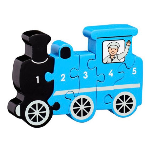 Wooden Train Puzzle