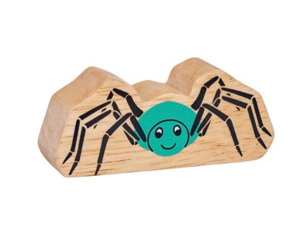 Natural Wooden Spider