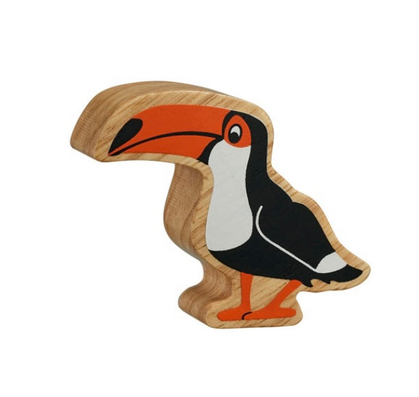 Black And Orange Toucan