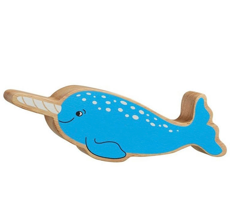 Blue Natural Narwhal
