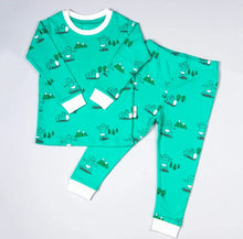 Load image into Gallery viewer, Toddler Pyjamas Green