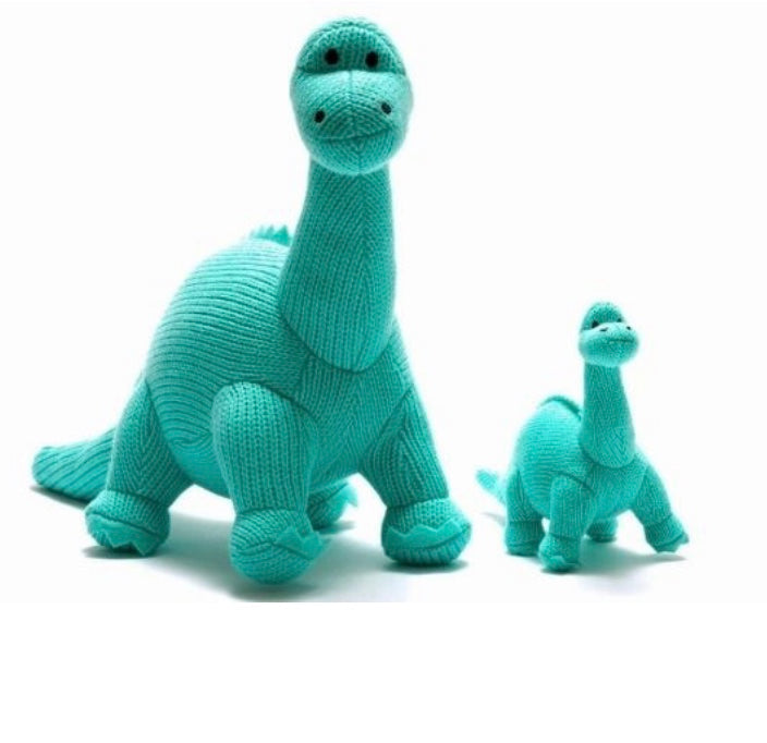 Ice Blue Diplodocus Soft Toy
