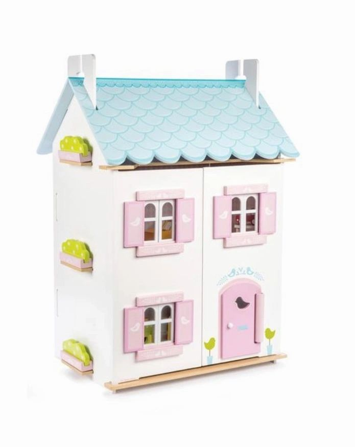 Bluebird Dolls House With Furniture