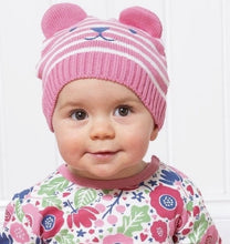 Load image into Gallery viewer, Teddy Knit Hat Pink