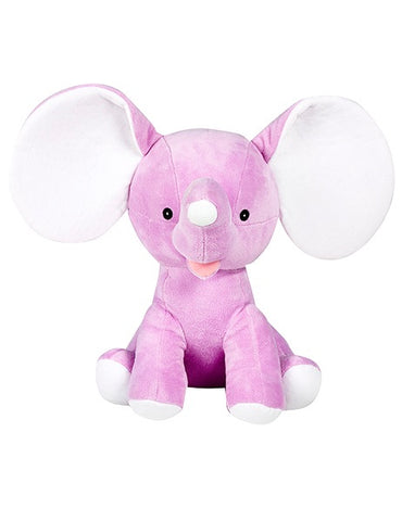Dumble - Personalised Embroidered Elephant - Purple
