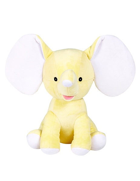 Dumble - Personalised Embroidered Elephant - Yellow