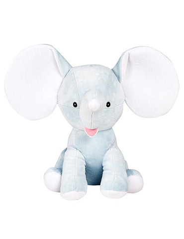 Dumble - Personalised Embroidered Elephant - Baby Blue