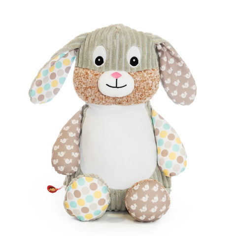 Personalised Embroidered Baby Sensory Bunny Rabbit - Spring Time