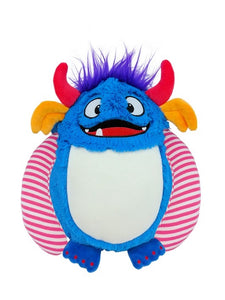 Spike - Personalised Embroidered Blue Monster