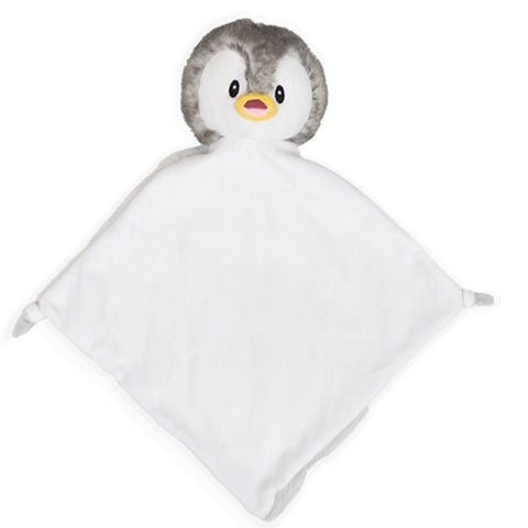 Personalised Penguin Baby Blankie