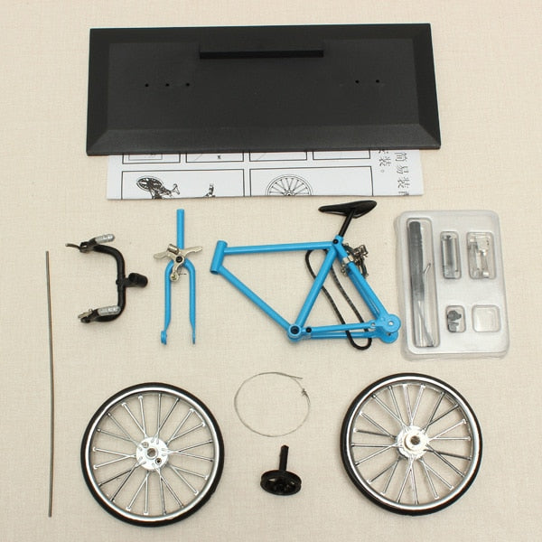 Simulation DIY Alloy Mountain Road Bicycle