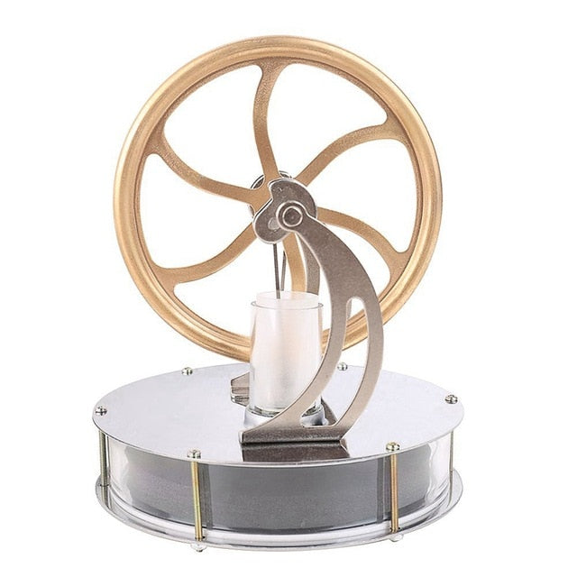 Low Temperature Stirling Engine Motor Steam