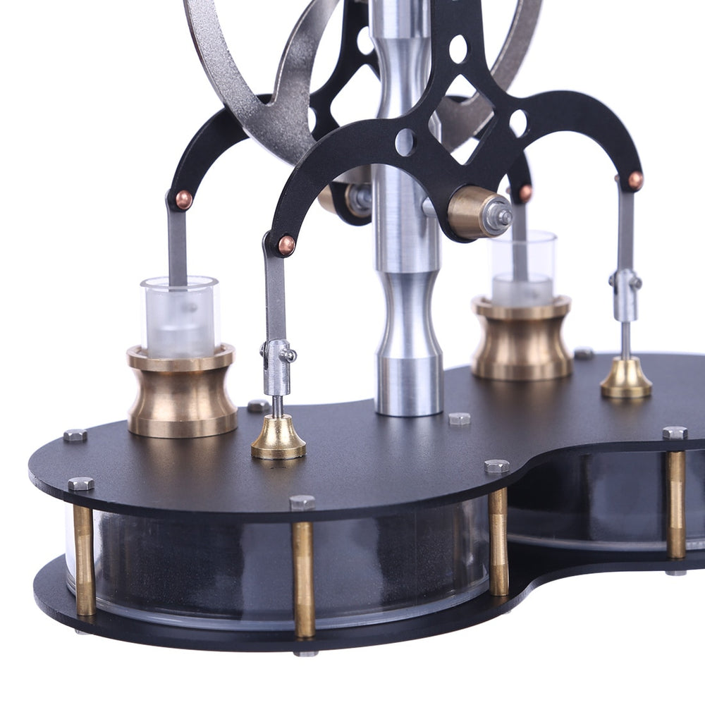 2 Cylinder Low Temperature Difference Stirling Engine