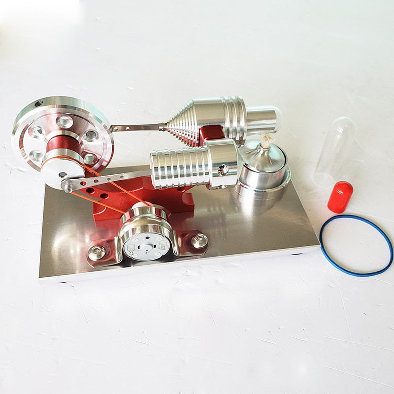 Micro Stirling Steam Generator Engine