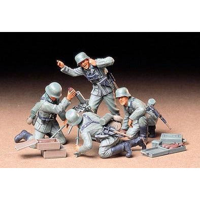 Tamiya 1-35 GERMAN INFANTRY MORTAR TEAM