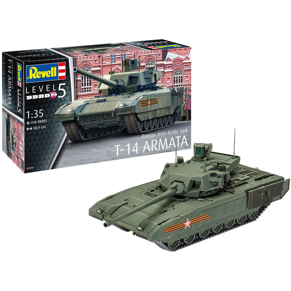 Revell-of-Germany-1-35-Russian-Main-Battle-Tank-T-14-ARMATA
