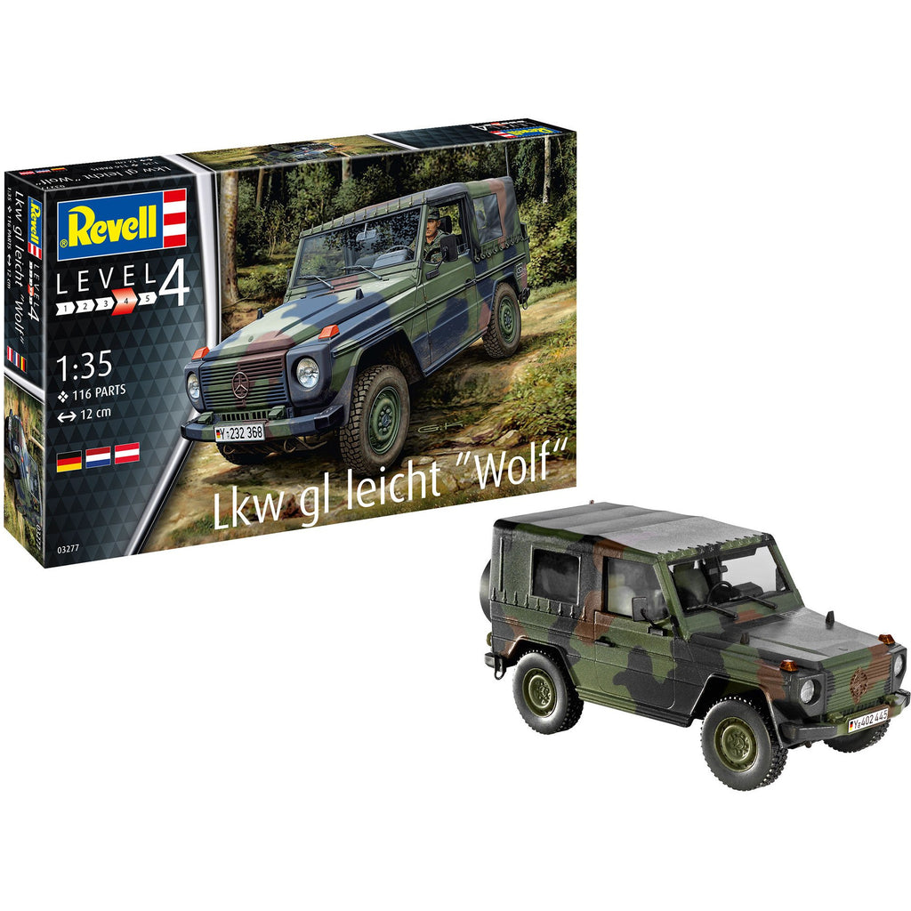 Revell-of-Germany-1-35-Lkw-gl-leicht-Wolf