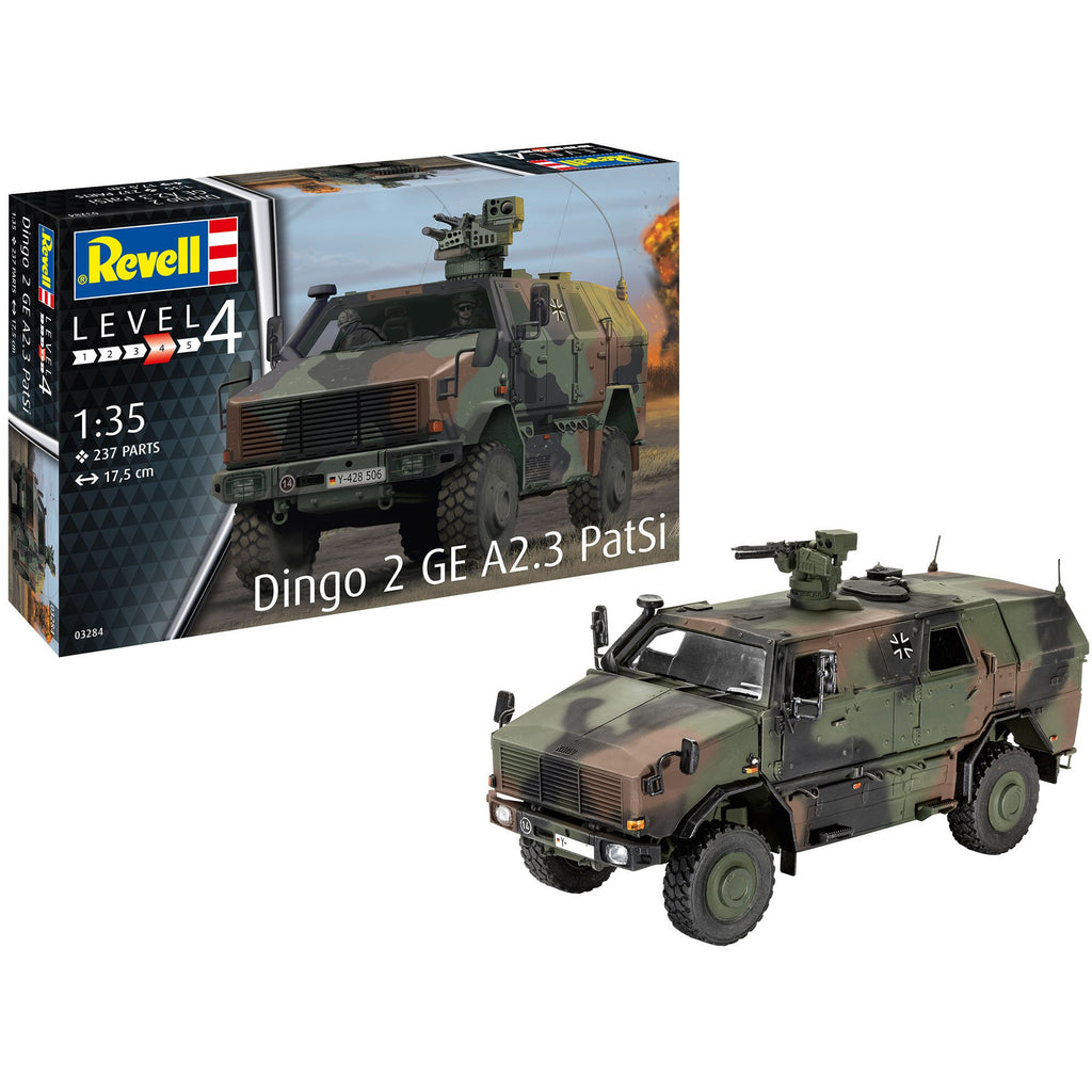 Revell-of-Germany-1-35-Dingo-2-GE-A23-PatSi