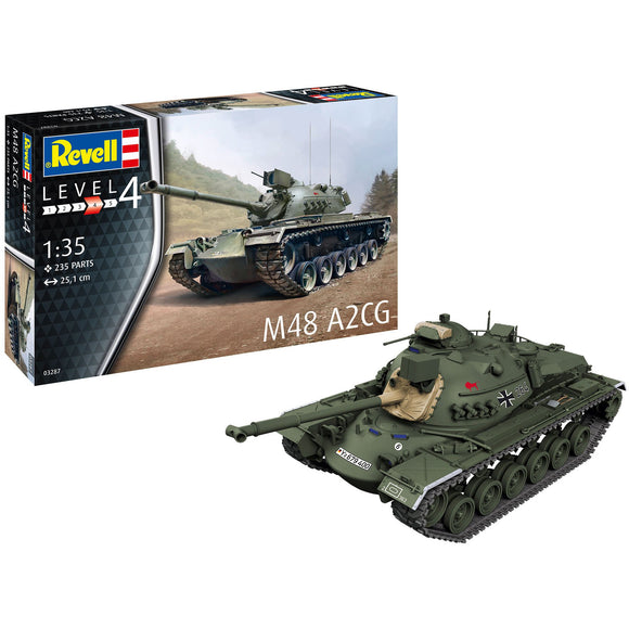 Revell-of-Germany-1-35-M48-A2CG
