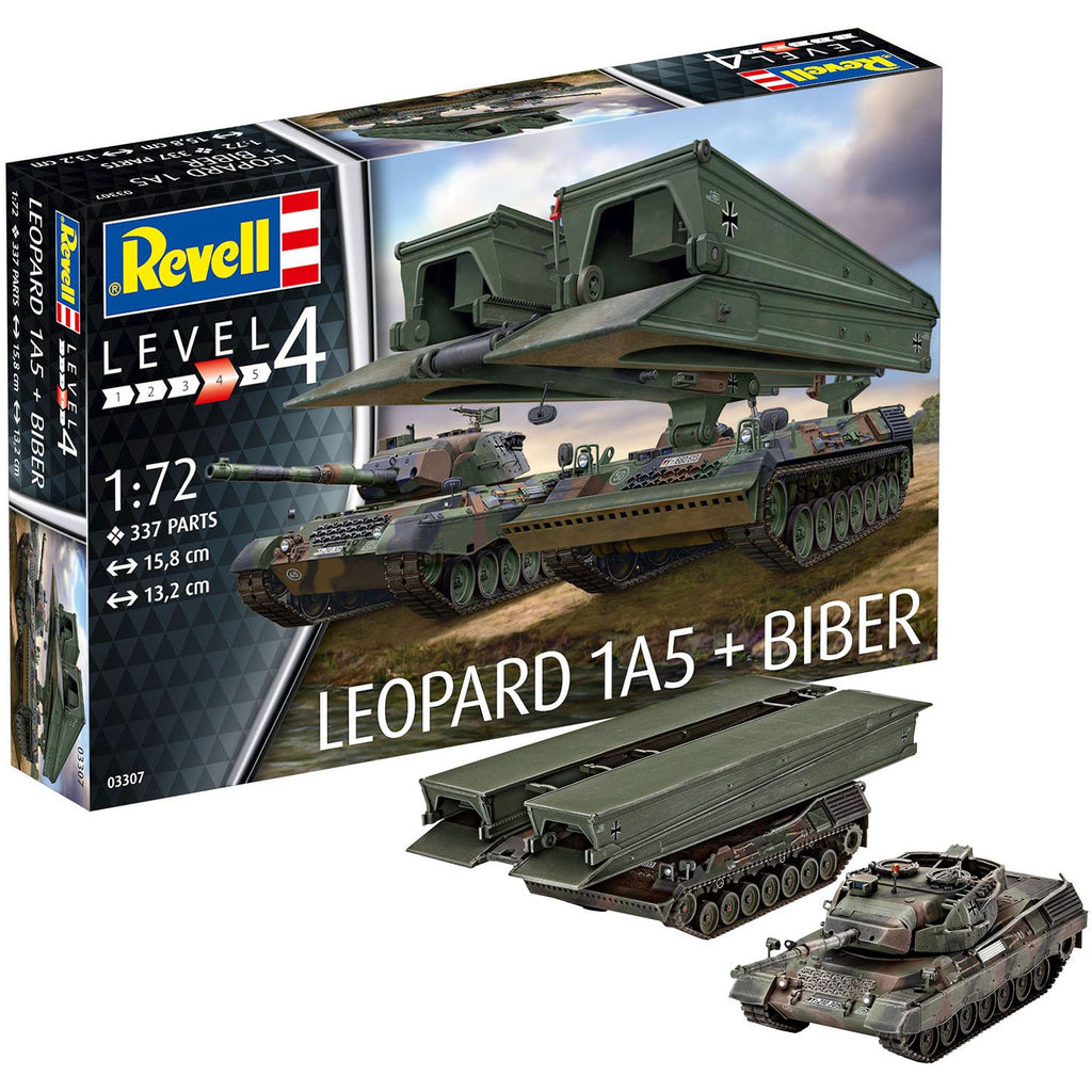Revell-of-Germany-1-72-Leopard-1A5-Bridgelayer-Biber
