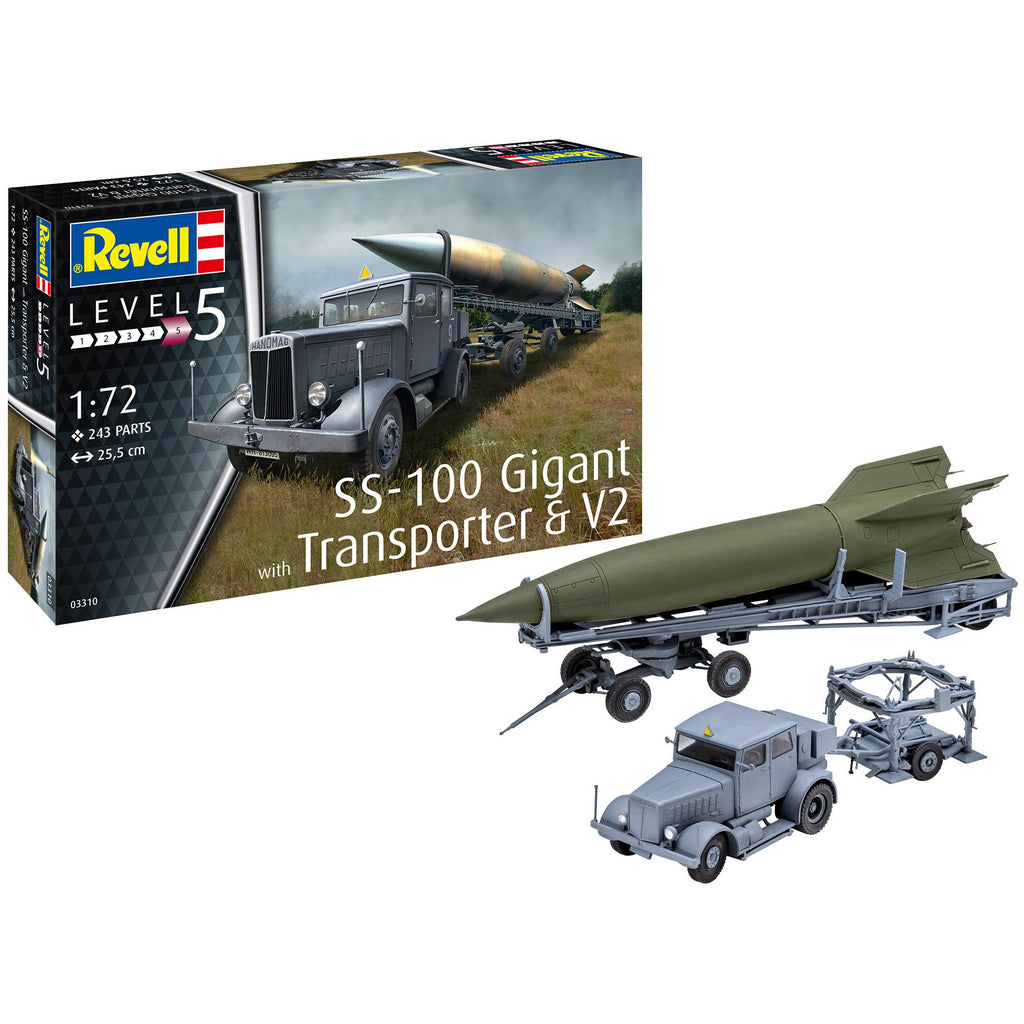 Revell-of-Germany-1-72-SS-100-Gigant-Transporter-V2