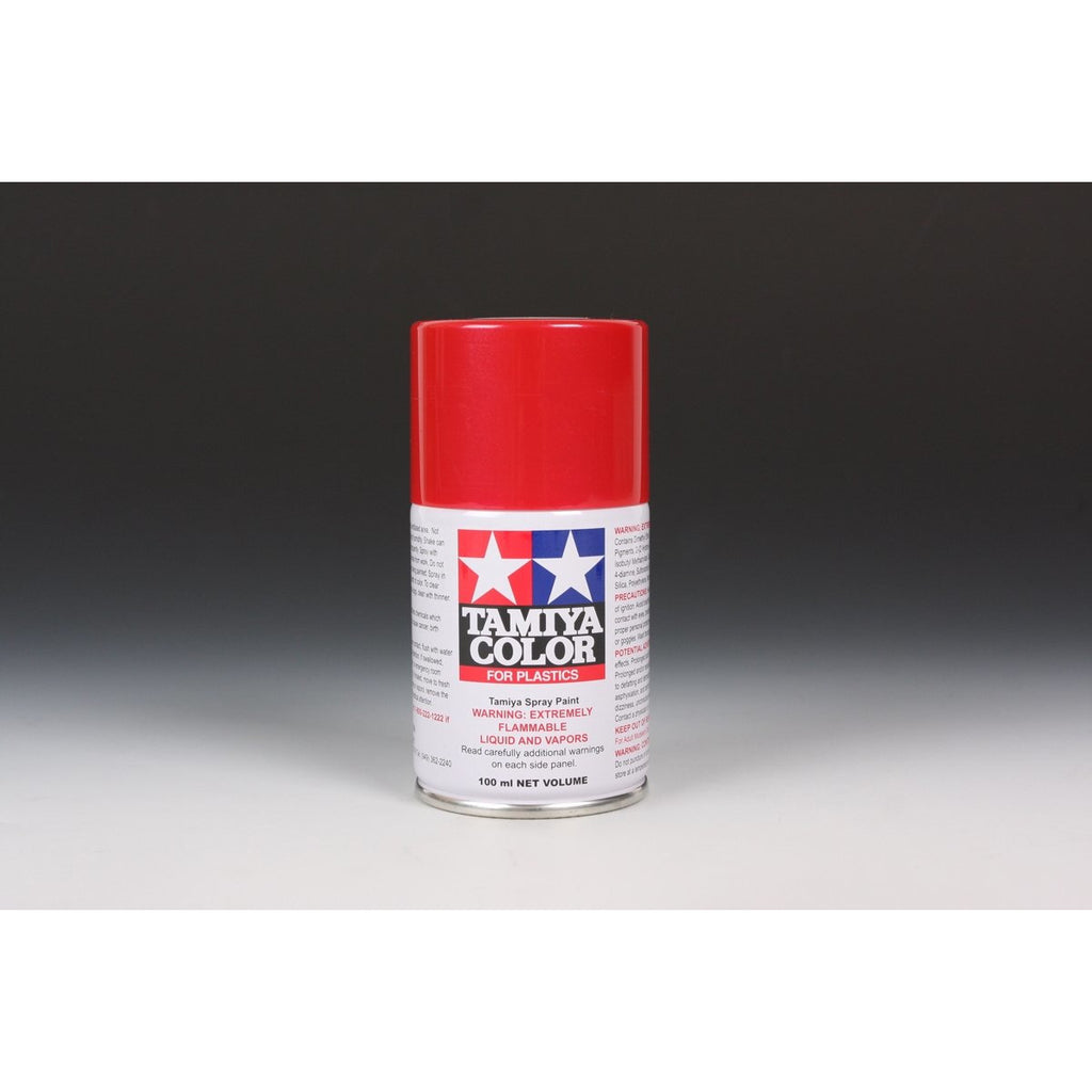 Tamiya 85018 TS-18 Metallic Red Spray Paint / Tamiya USA