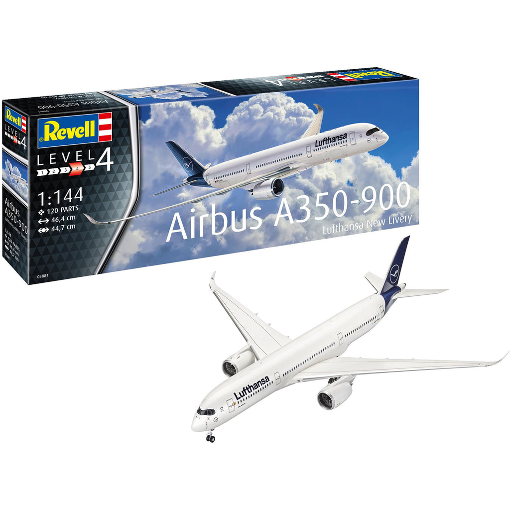 Revell-of-Germany-1-72-Airbus-A350-900-Lufthansa-New-Livery