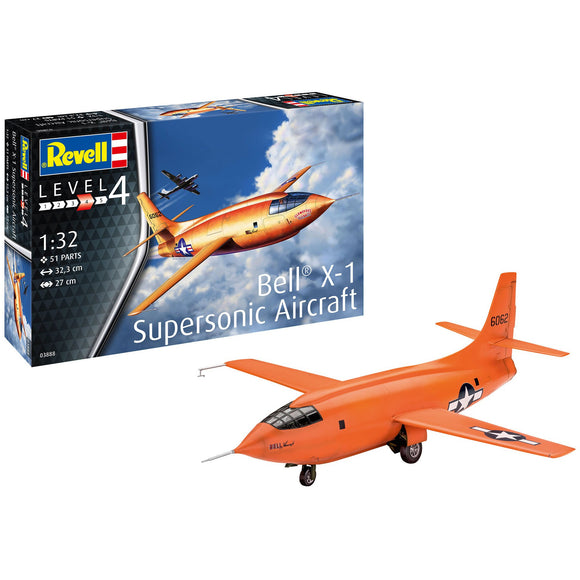 Revell-of-Germany-1-32-Bell-X-1-1rst-Supersonic