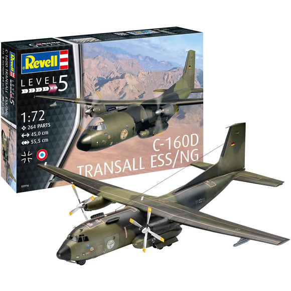 Revell-of-Germany-1-72-C-160-Transall-Eloka