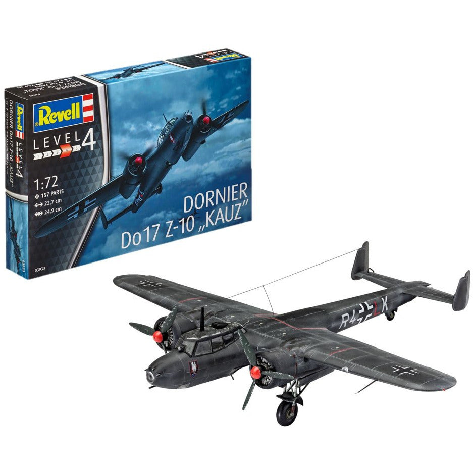 Revell-of-Germany-1-72-Dornier-Do1-7Z-10