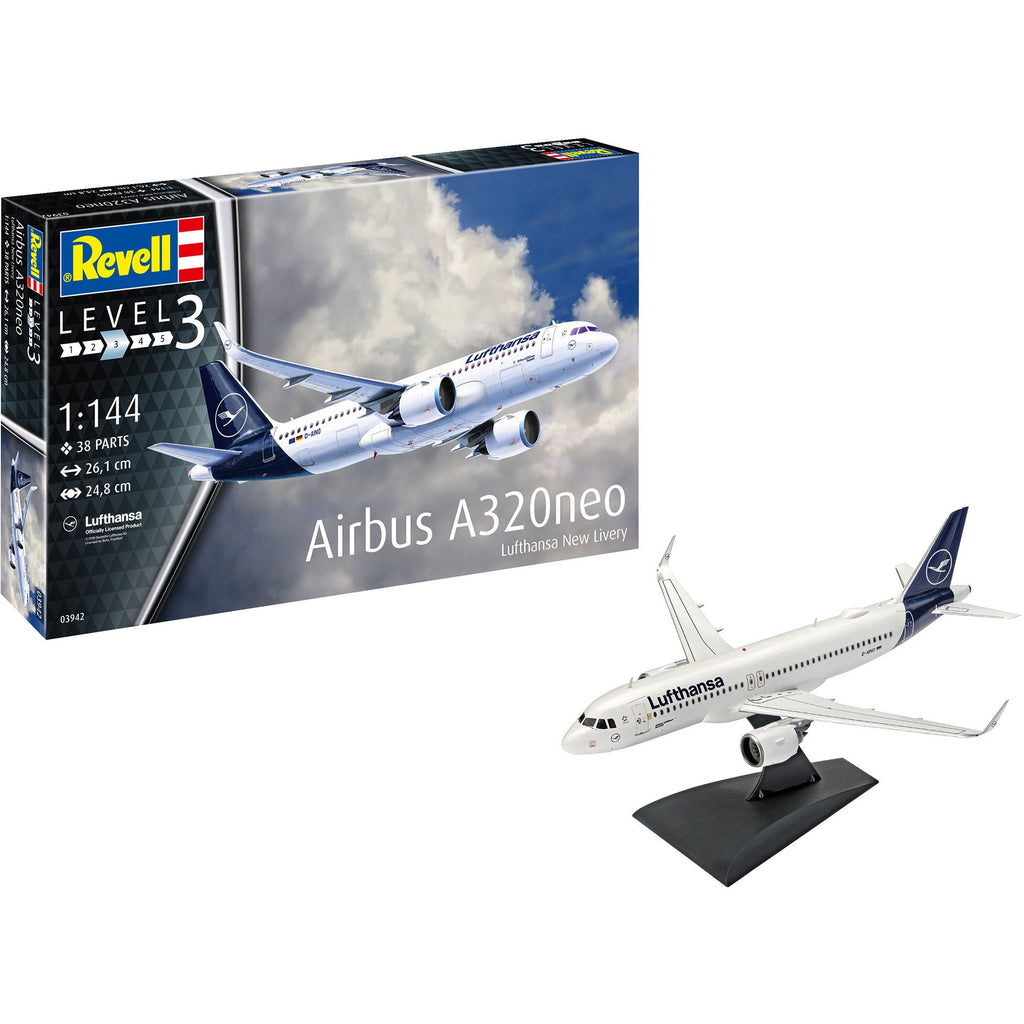 Revell-of-Germany-1-144-Airbus-A320-Neo-Lufthansa-New-Livery