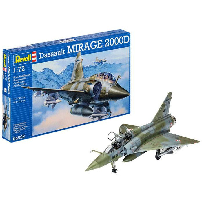Revell-of-Germany-1-72-Dassault-MIRAGE-2000D