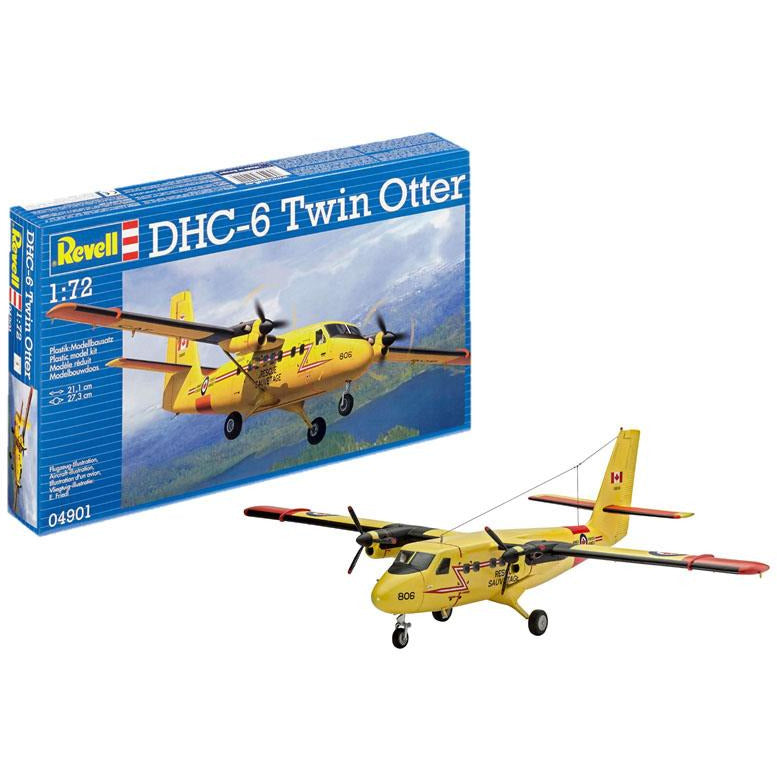 Revell-of-Germany-1-72-DHC-6-Twin-Otter