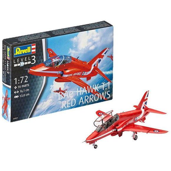 Revell-of-Germany-1-72-BAe-Hawk-T1-Red-Arrows