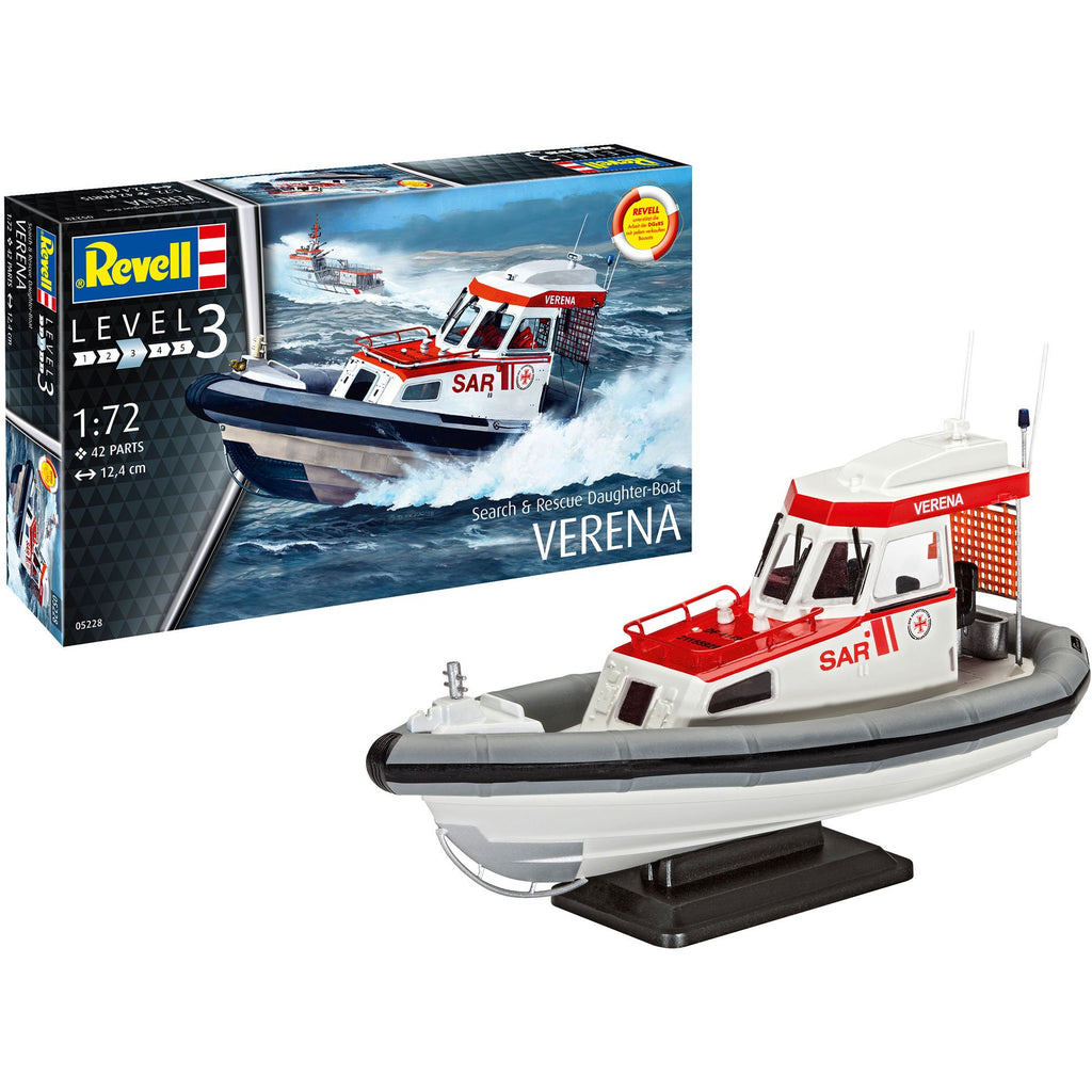 Revell-of-Germany-1-72-Search-Rescue-Daughter-Boat-VERENA